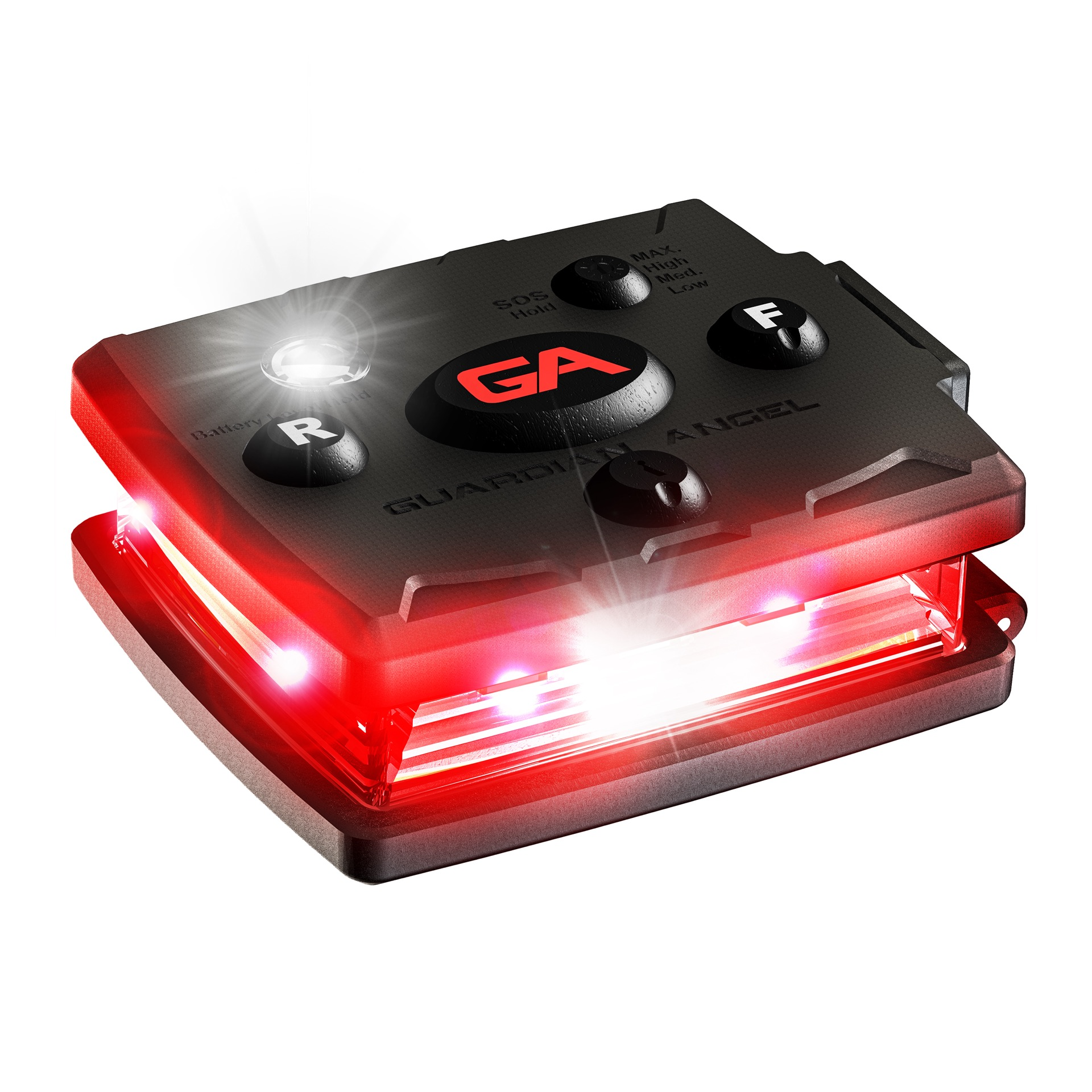 Lampe LED Micro (rouge/rouge)